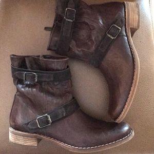 Paul Green brown booties